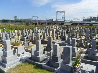 誉田東墓地(羽曳野市)
