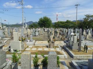 川面墓地(富田林市)