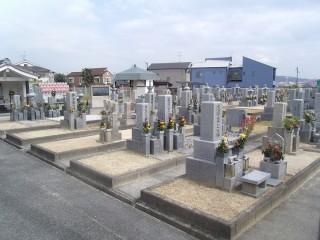 野々上共同墓地(羽曳野市)