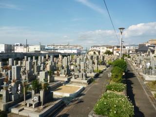 八尾市立安中墓地(八尾市)