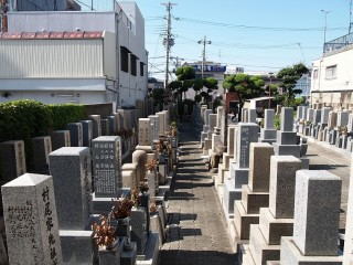 足代墓地(東大阪市)