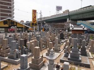 東大阪市にあるお墓、長田西河墓地