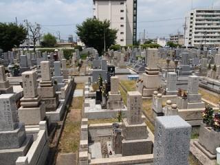 東大阪市立荒本墓地(東大阪市)