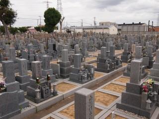 加納川田墓地(東大阪市)