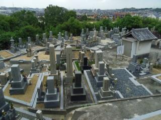 ひよどり墓地(河内長野市)