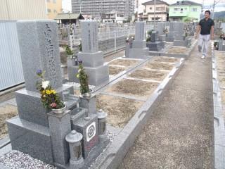 道明寺地区墓地(藤井寺市)