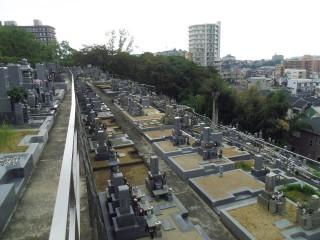 河内長野原地区墓地