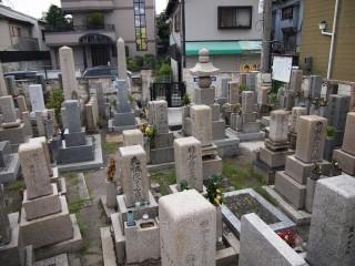 徳庵橋本墓地(東大阪市)