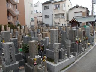 野江墓地(大阪市城東区)