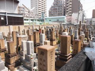 関目墓地(大阪市城東区)