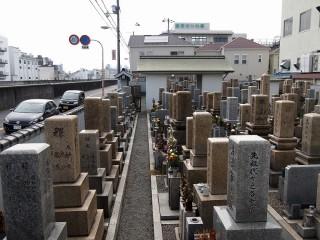 横堤墓地(大阪市鶴見区)