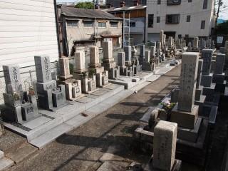安田墓地(大阪市鶴見区)