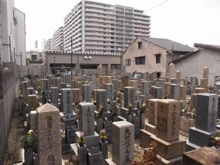 諸口共同墓地(大阪市鶴見区)
