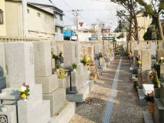 東今里共同墓地