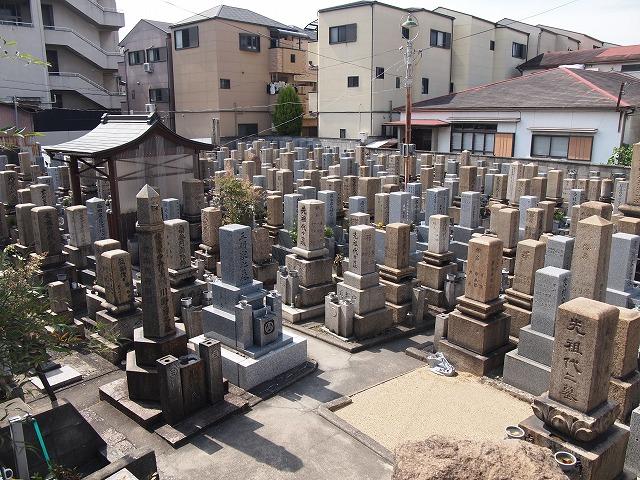 大阪市鶴見区・城東区墓地