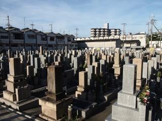 長吉六反・木の本共同墓地(大阪市平野区)