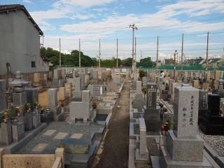大阪市設庭井霊園(大阪市住吉区)