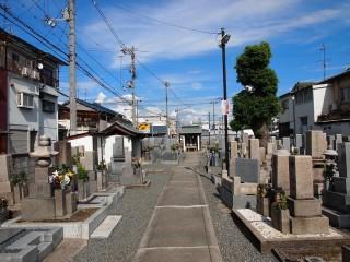 旧住道共同墓地(大阪市東住吉区)