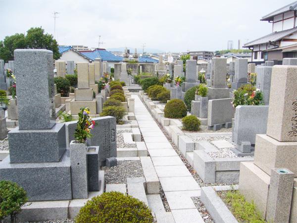 豊中市の空き募集墓地
