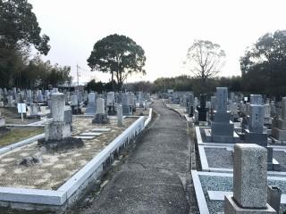 私部墓地(交野市青山)