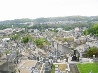三町墓地(和泉市)