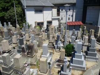 上中木田町墓地(寝屋川市)
