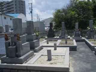 摂津市にあるお墓、新在家八防第二共同墓地