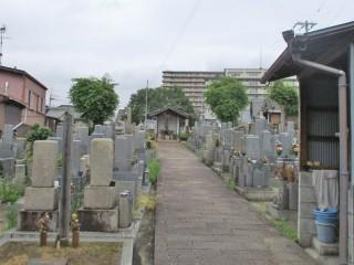 上市・古町墓地