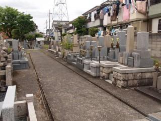 西教寺墓地(高槻市)