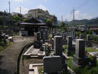 小橋谷墓地(三島郡)