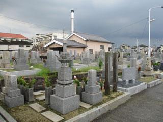 堺市美原区黒山地区共同墓地