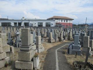 三昧墓地(和泉市伯太町)