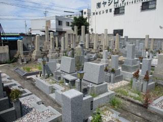 北山口墓地(和泉市伯太町)