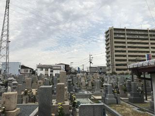 堺市北区阿坂墓地