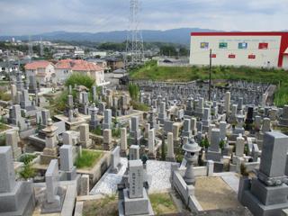 和泉市_内田町墓地