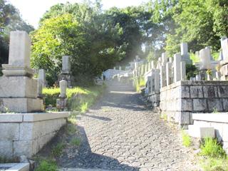 茨木市にあるお墓、安威墓地