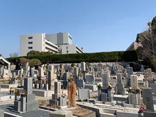 箕面市にあるお墓、稲墓地