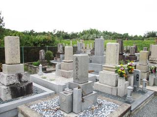 茨木市にあるお墓、上穂積墓地