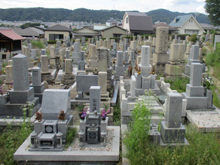 箕面市にあるお墓、瀬川・半町共同墓地