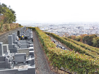高槻市にあるお墓、高槻市公園墓地