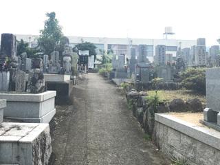 南河内郡河南町にあるお墓、南加納墓地