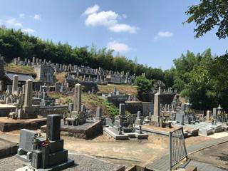 南河内郡河南町にあるお墓、中地区墓地