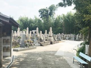 南河内郡河南町にあるお墓、白木墓地