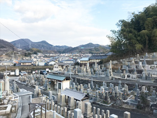 南河内郡太子町にあるお墓、春日墓地