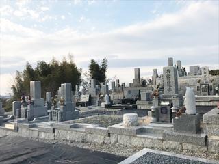 南河内郡太子町にある墓地、西墓地
