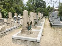 摂津市にあるお墓、鳥飼野々自治会三組墓地