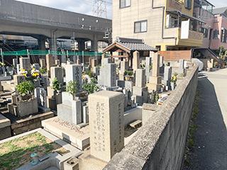 大阪市淀川区のお墓、野中共同墓地