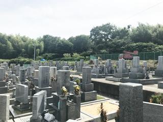 羽曳野市にあるお墓、河原城墓地