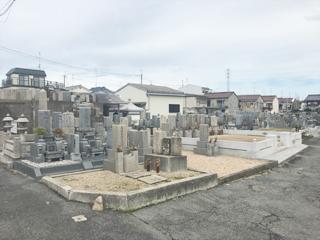 羽曳野市にあるお墓、小土墓地