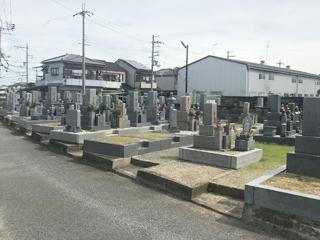 羽曳野市にあるお墓、郡戸墓地